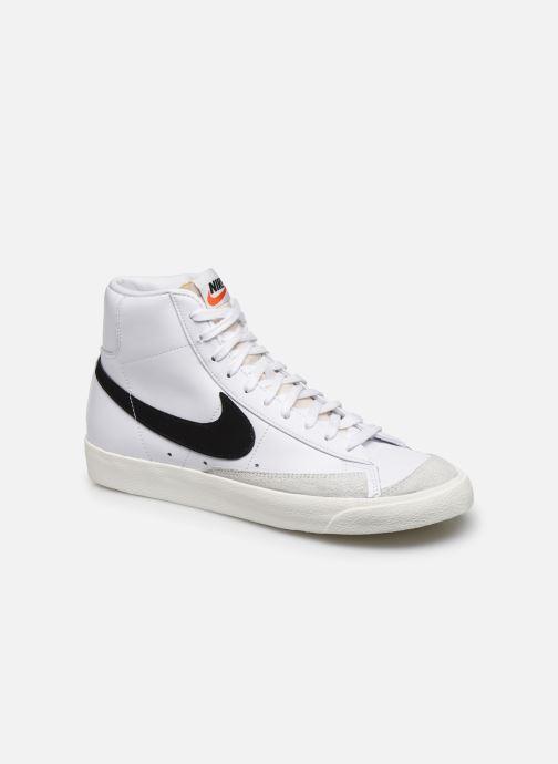 Sneakers Nike Blazer Mid '77 Vntg Hvid detaljeret billede af skoene