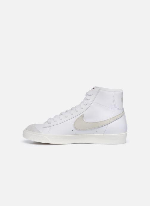 Sneaker Nike Blazer Mid '77 Vntg weiß ansicht von vorne