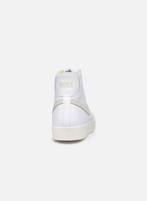 Sneaker Nike Blazer Mid '77 Vntg weiß ansicht von rechts