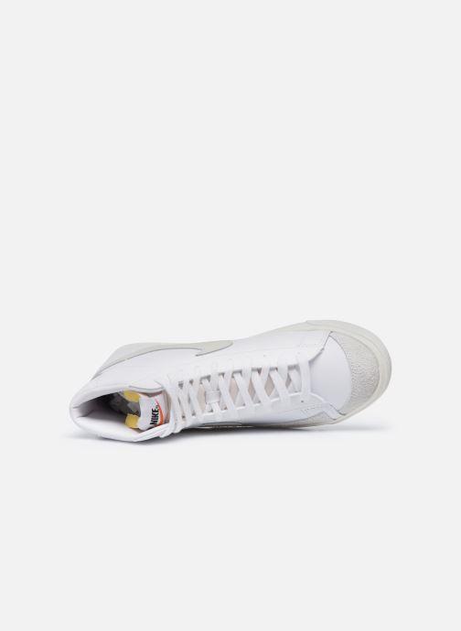 Sneaker Nike Blazer Mid '77 Vntg weiß ansicht von links