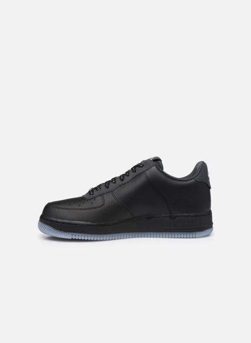 Sneaker Nike Air Force 1 '07 Lv8 3 schwarz ansicht von vorne