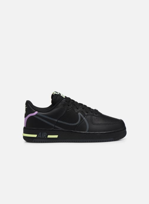 Deportivas Nike Air Force 1 React Negro vistra trasera