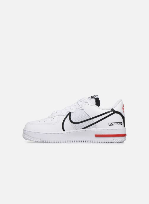 Nike Air Force 1 React (Blanc) Baskets chez Sarenza (426170)