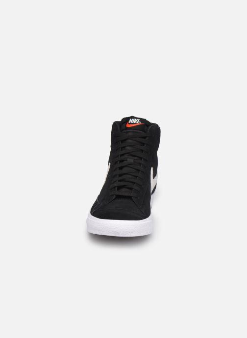 Sneaker Nike Blazer Mid '77 Suede schwarz schuhe getragen