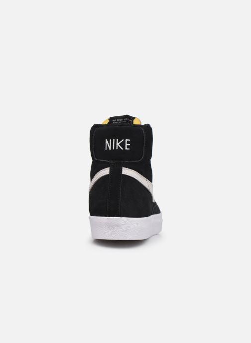 Sneaker Nike Blazer Mid '77 Suede schwarz ansicht von rechts