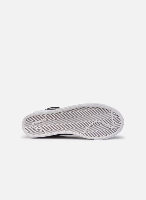 Sneaker Nike Blazer Mid '77 Suede schwarz ansicht von oben