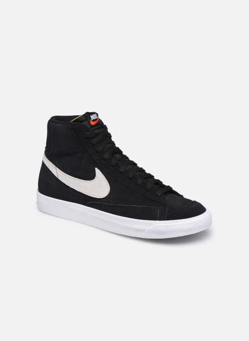 Sneaker Nike Blazer Mid '77 Suede schwarz detaillierte ansicht/modell