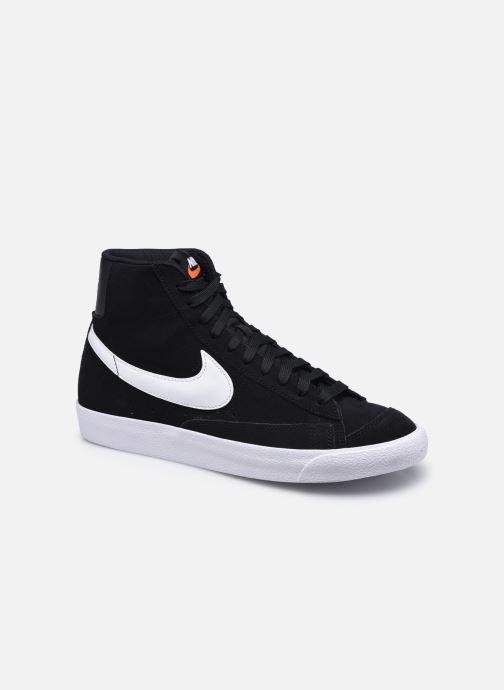 Baskets Nike Blazer Mid '77 Suede Noir vue détail/paire