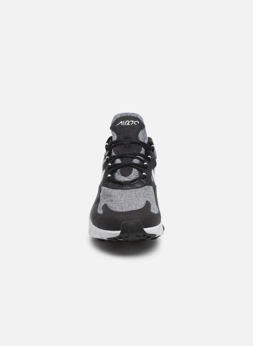 Baskets Nike Air Max 270 React Noir vue portées chaussures