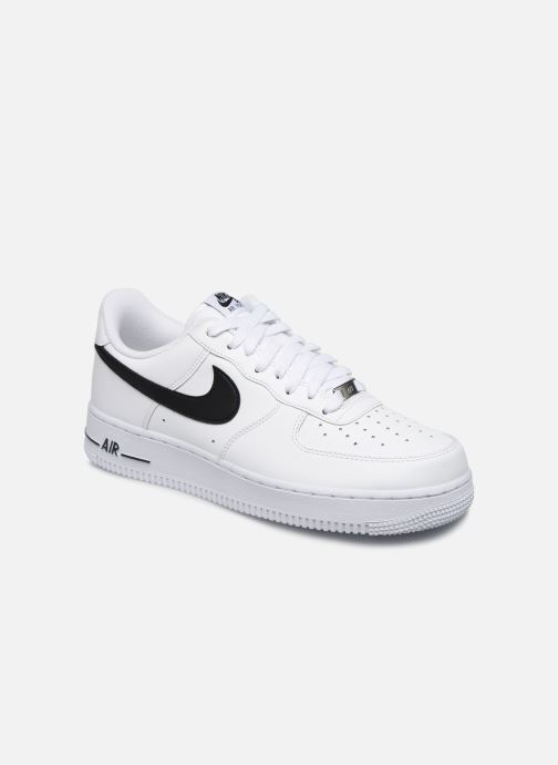 Baskets Nike Air Force 1 '07 An20 Blanc vue détail/paire