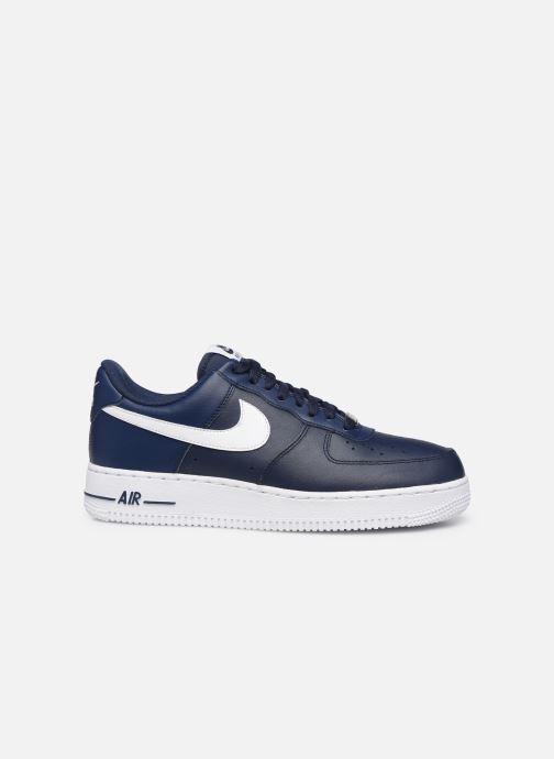 Sneaker Nike Air Force 1 '07 An20 blau ansicht von hinten