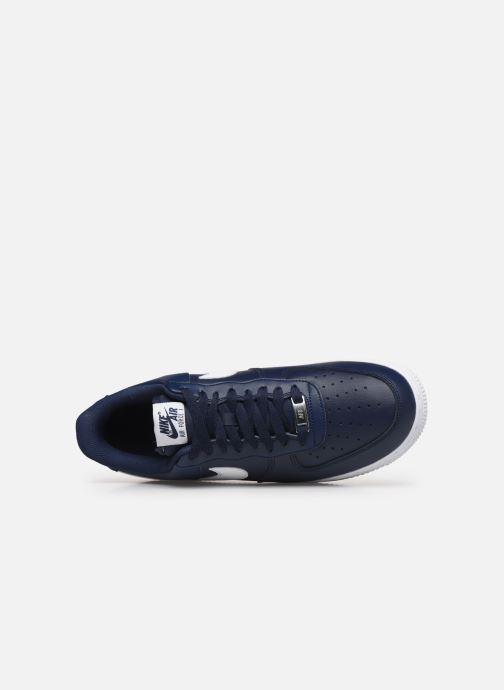 Sneaker Nike Air Force 1 '07 An20 blau ansicht von links