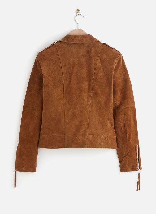 Vêtements Vila Leather Jacket VICRIS Marron vue bas / vue portée sac