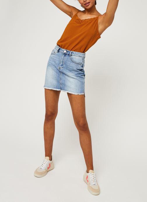 Vêtements Vila LACE TOP VIMERO Orange vue bas / vue portée sac