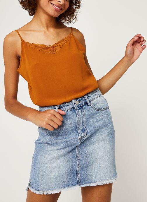 Vêtements Vila LACE TOP VIMERO Orange vue détail/paire