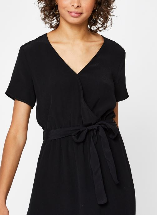 Vêtements Vila WRAP DRESS VIPRIMERA Noir vue face