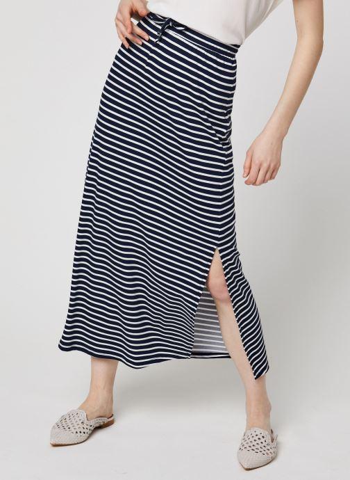 Vêtements Vila Long Skirts VIDELL Bleu vue détail/paire