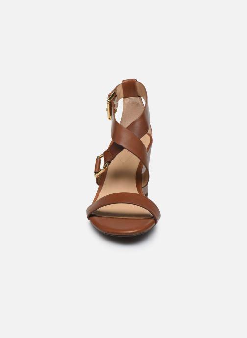 Sandales et nu-pieds Lauren Ralph Lauren Chadwell Sandals Marron vue face