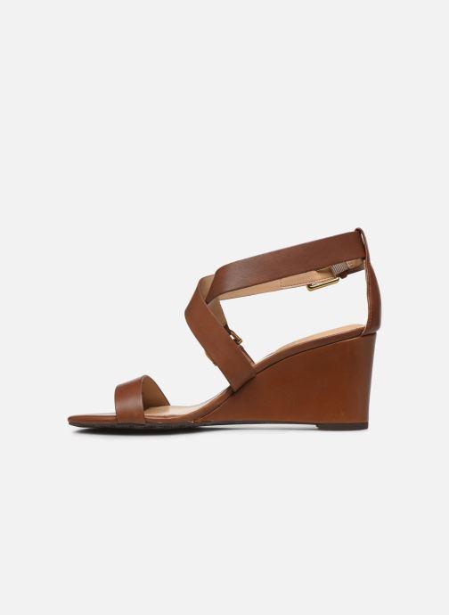 Sandales et nu-pieds Lauren Ralph Lauren Chadwell Sandals Marron vue droite