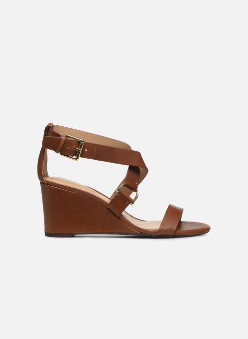 Sandales et nu-pieds Lauren Ralph Lauren Chadwell Sandals Marron vue gauche