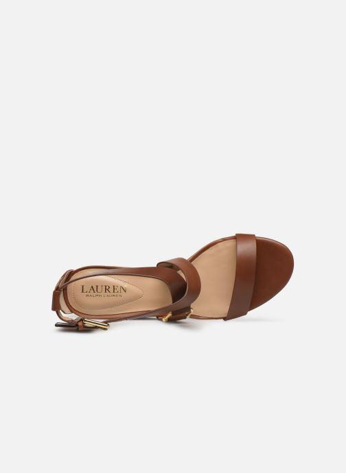 Sandales et nu-pieds Lauren Ralph Lauren Chadwell Sandals Marron vue haut