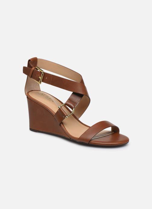 Sandales et nu-pieds Lauren Ralph Lauren Chadwell Sandals Marron vue détail/paire