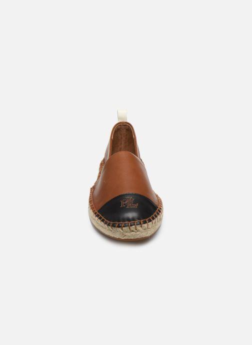 Espadrilles Lauren Ralph Lauren Dorian Espadrilles Marron vue portées chaussures