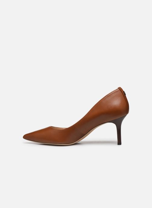 Escarpins Lauren Ralph Lauren Lanette Pumps Marron vue face