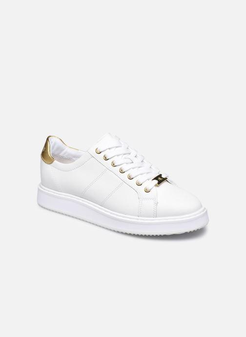 Baskets Lauren Ralph Lauren Angeline Sneakers Blanc vue détail/paire