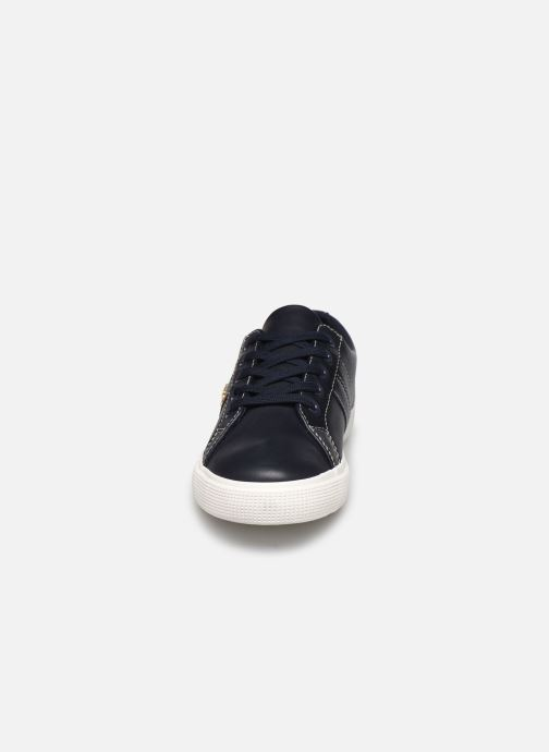 Baskets Lauren Ralph Lauren Janson II Sneakers Bleu vue portées chaussures