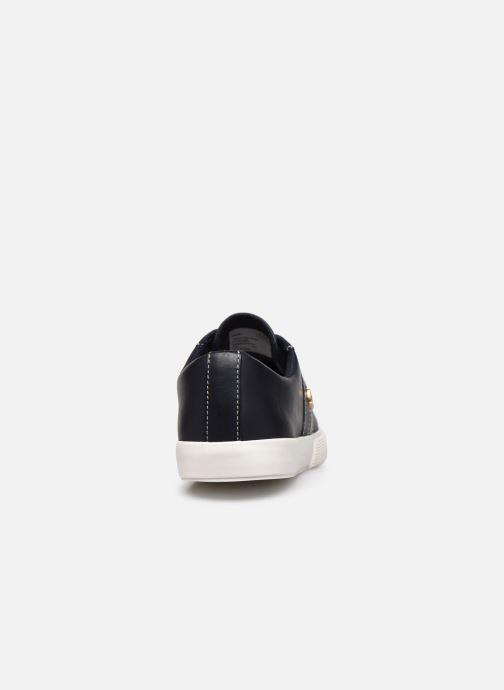 Baskets Lauren Ralph Lauren Janson II Sneakers Bleu vue droite