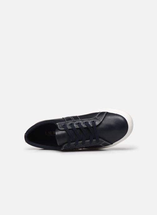 Baskets Lauren Ralph Lauren Janson II Sneakers Bleu vue gauche