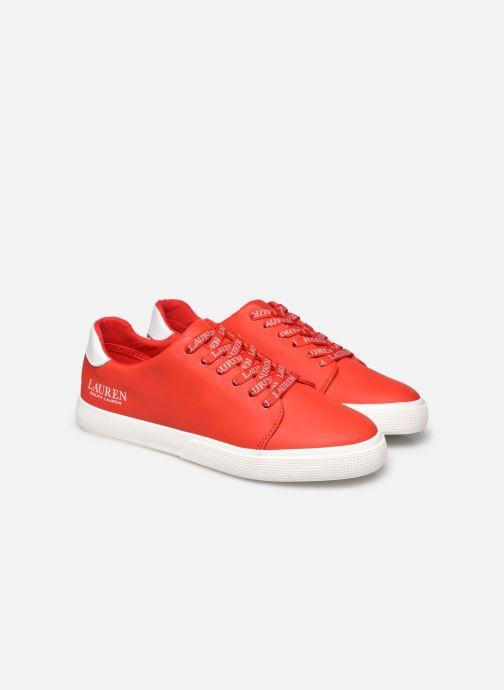 Deportivas Lauren Ralph Lauren Joana Sneakers Rojo vista 3/4