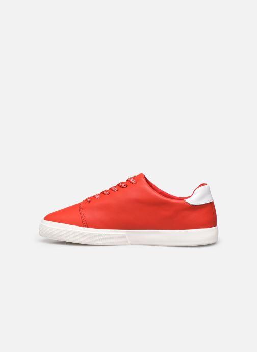 Deportivas Lauren Ralph Lauren Joana Sneakers Rojo vista de frente
