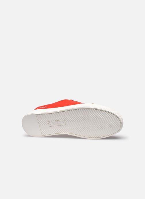 Deportivas Lauren Ralph Lauren Joana Sneakers Rojo vista de arriba