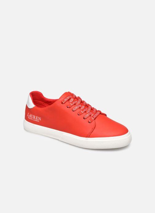 Deportivas Lauren Ralph Lauren Joana Sneakers Rojo vista de detalle / par