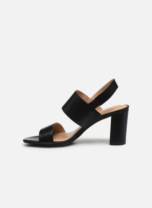 Sandales et nu-pieds Lauren Ralph Lauren Braidan Noir vue face