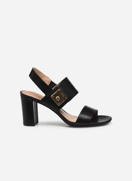 Sandales et nu-pieds Lauren Ralph Lauren Braidan Noir vue derrière