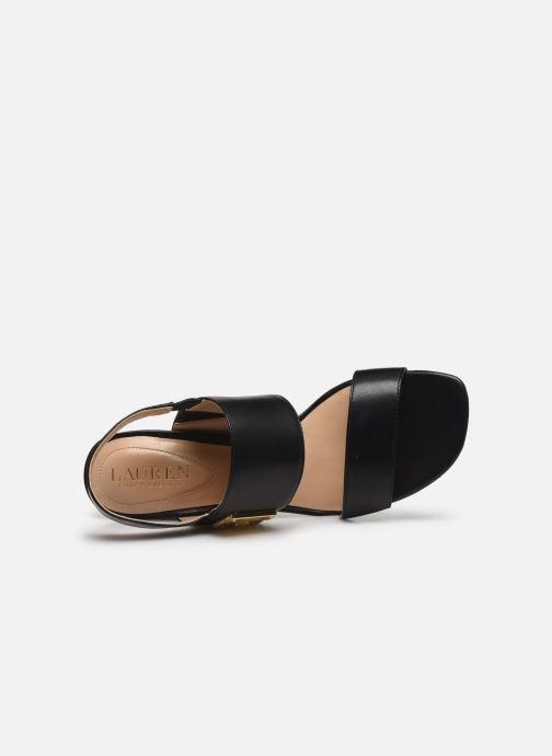 Sandales et nu-pieds Lauren Ralph Lauren Braidan Noir vue gauche