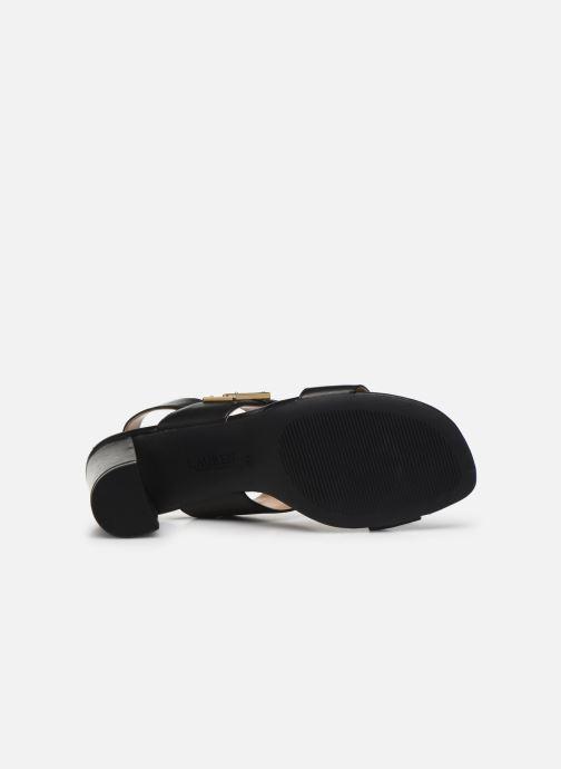 Sandales et nu-pieds Lauren Ralph Lauren Braidan Noir vue haut