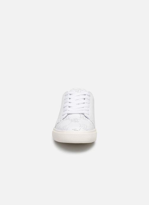 Baskets Lauren Ralph Lauren Joslin Blanc vue portées chaussures