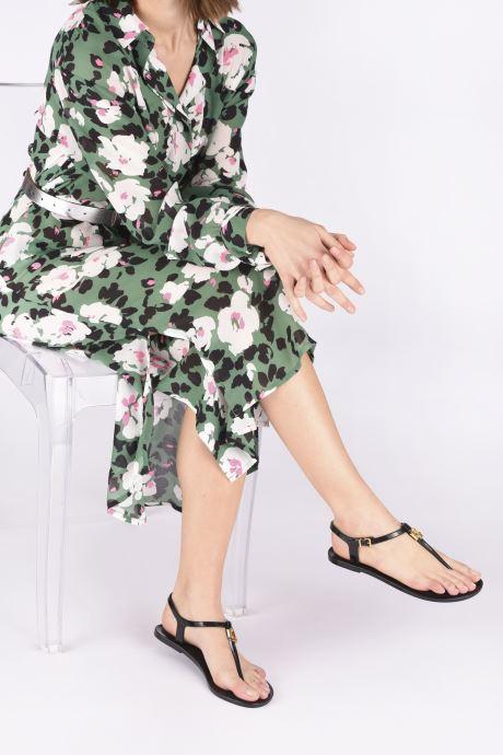 Sandales et nu-pieds Lauren Ralph Lauren Ashtyn Noir vue bas / vue portée sac