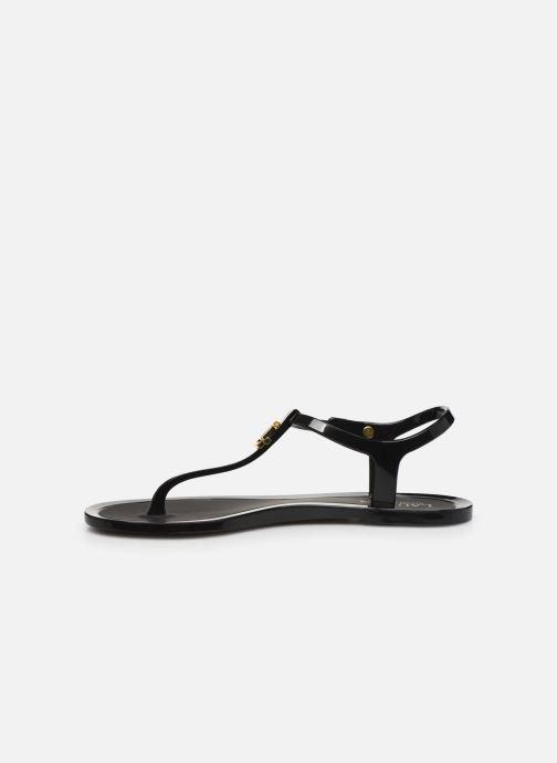 Sandales et nu-pieds Lauren Ralph Lauren Ashtyn Noir vue face