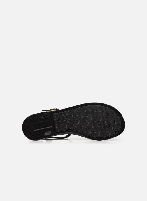 Sandales et nu-pieds Lauren Ralph Lauren Ashtyn Noir vue haut