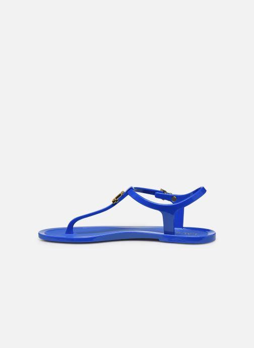 Sandales et nu-pieds Lauren Ralph Lauren Ashtyn Bleu vue face