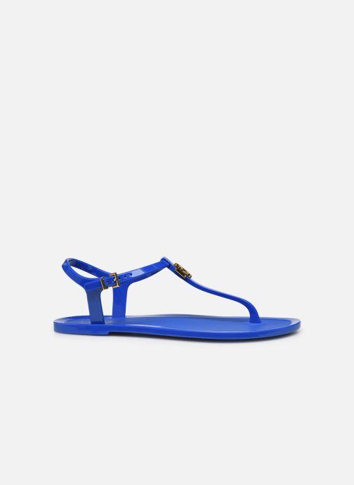 Sandales et nu-pieds Lauren Ralph Lauren Ashtyn Bleu vue derrière