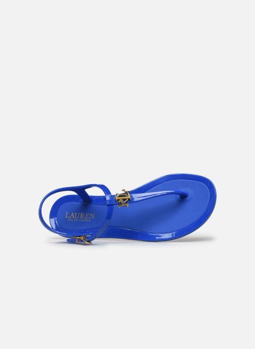 Sandales et nu-pieds Lauren Ralph Lauren Ashtyn Bleu vue gauche