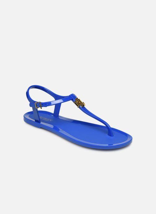 Sandales et nu-pieds Lauren Ralph Lauren Ashtyn Bleu vue détail/paire