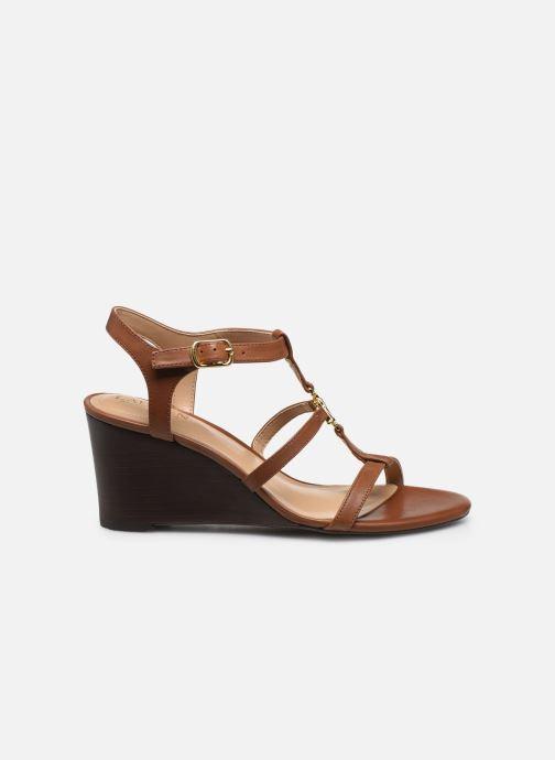 Sandales et nu-pieds Lauren Ralph Lauren Charlton Marron vue derrière
