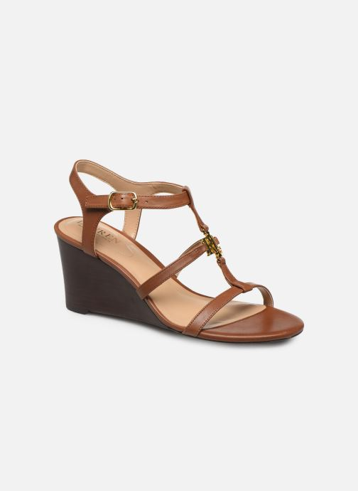 Sandali e scarpe aperte Lauren Ralph Lauren Charlton Marrone vedi dettaglio/paio